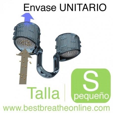Filtro Nasal Best Breathe® - con un portafiltros talla S y 30 filtros de recambio