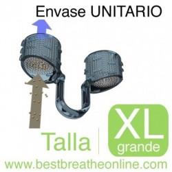 Filtro Nasal Best Breathe® - con un portafiltros talla XL y 30 filtros de recambio