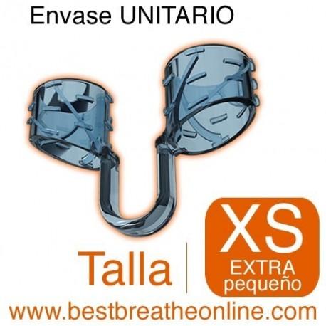 Dilatador Nasal Best Breathe® Talla XS, antironquidos y para aumentar rendimiento deportivo, envase unitario
