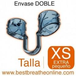 Dilatador Nasal Best Breathe® Talla XS, antironquidos y para aumentar rendimiento deportivo, envase doble