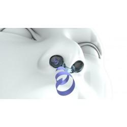 Filtro Nasal Best Breathe® - con 3 portafiltros tallas S + M + XL y 30 filtros de recambio