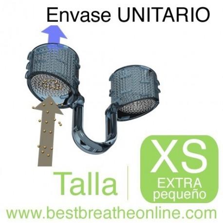 Filtro Nasal Best Breathe® - con un portafiltros talla XS y 30 filtros de recambio