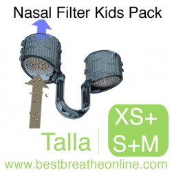 Filtro Nasal Kids Pack