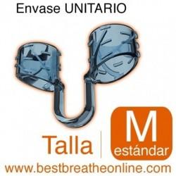 Dilatador Nasal Best Breathe® Talla M, antironquidos y para aumentar rendimiento deportivo, envase unitarario